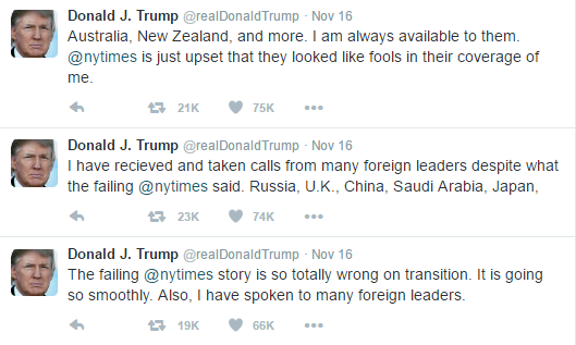 Trump's Constant Whining About The NY Times Isn't Just Bad For The First Amendment