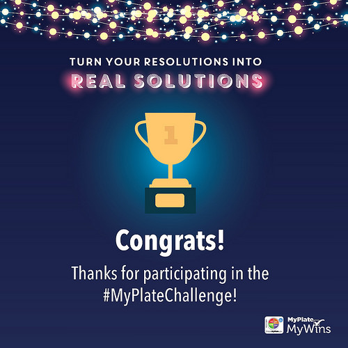 Continuing The Challenge: Achieve MyPlate Everyday