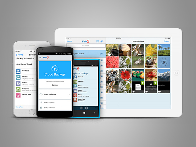 Daily Deal: IDrive Unlimited Mobile Backup Lifetime Subscription