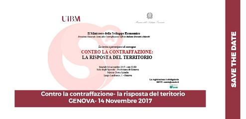 14/11/2017- Evento Genova, Contro La Contraffazione La Risposta Del Territorio