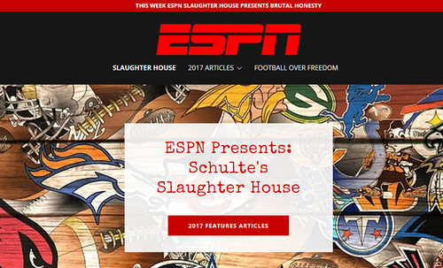 "ESPN Takes Down ""ESPN Slaughter"" Website"