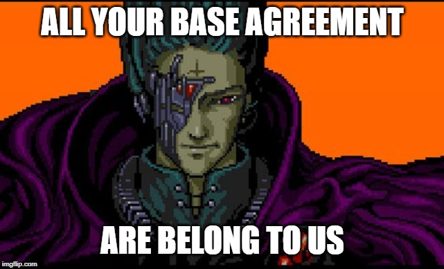 ICANN: All Your Base Agreement Are Belong To Us