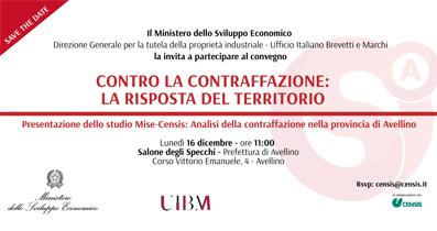 """Presentazione Dello Studio """"Mise-Censis: Analisi Della Contraffazione Nella Provincia Di Avellino"""""""